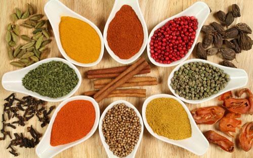 کاربرد ادویه ها در غذا , آشنایی با ادویه ها