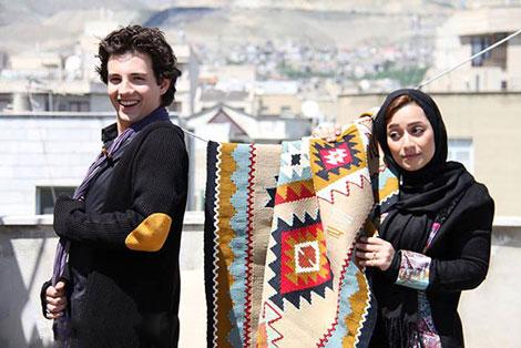 عکس امیر کاظمی - عکس مهتاب محسنی