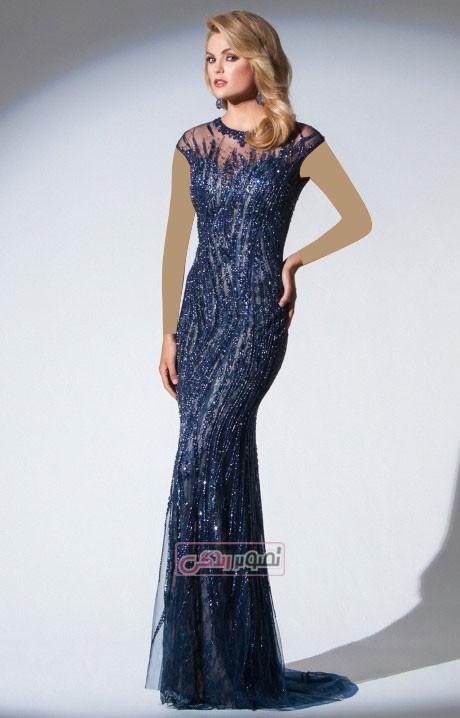 مدل لباس مجلسی زنانه - پیراهن مجلسی بلند