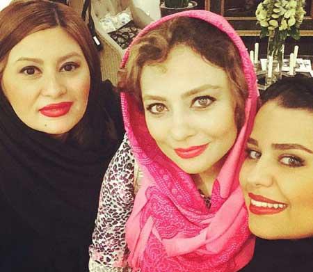 چهره ها - سلفی هنرمندان - عکس بازیگران - یکتا ناصر