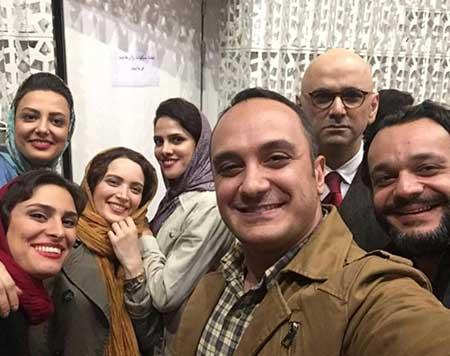 چهره ها - سلفی هنرمندان - عکس بازیگران - حبیب رضایی