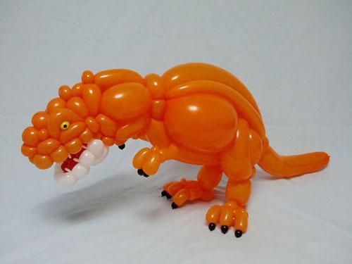 ساخت حیوان های بادکنکی توسط هنرمند ژاپنی ماسایوشی ماتسوموتو