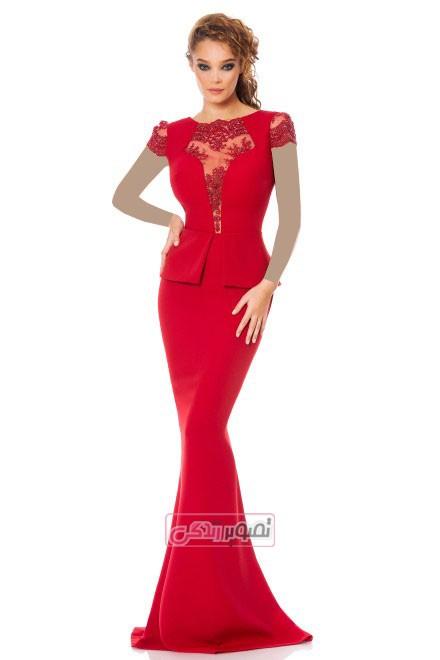 مدل لباس مجلسی زنانه 2015 - پیراهن مجلسی
