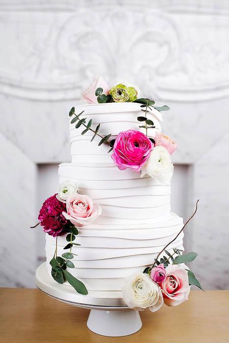 کیک عروس - مدل کیک عروسی - کیک مراسم ازدواج