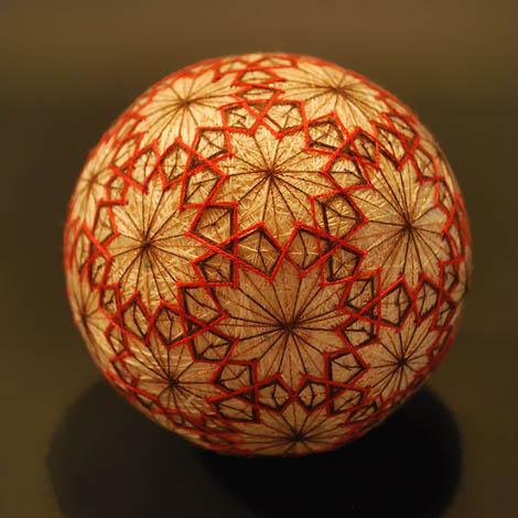 هنرنمایی جادویی پیرزن 92 ساله ژاپنی ,temari , هنر سنتی ژاپن