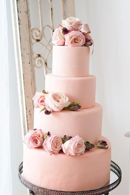 عکس مدل تزیین کیک برای عروسی