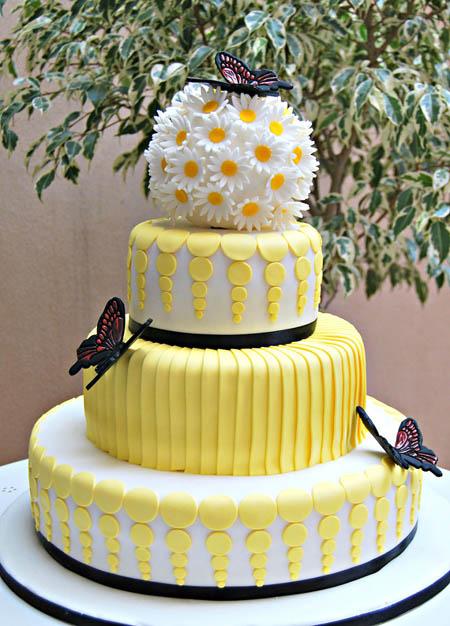 عکس مدل تزیین کیک عروسی