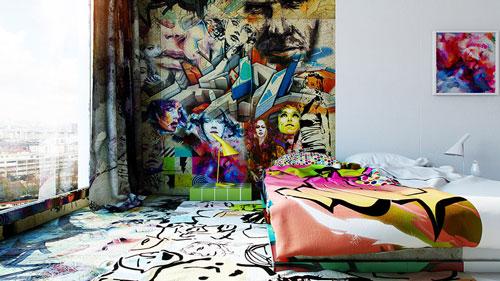 هنر مفهومی , هنرمند اوکراینی , Pavel Vetrov , نقاشی های مفهومی