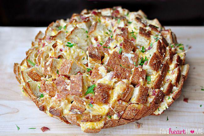 طرز تهیه نان پنیری رنگارنگ