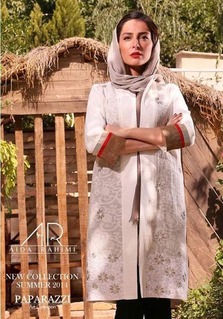 مدل مانتو 94 - مدل مانتو مجلسی - مانتو دخترانه - آیدا رحیمی