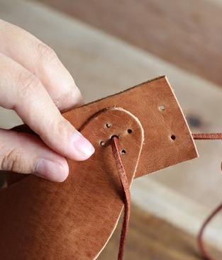 آموزش هنرهای دستی  , آموزش ساخت نقاب آفتابگیر چرمی