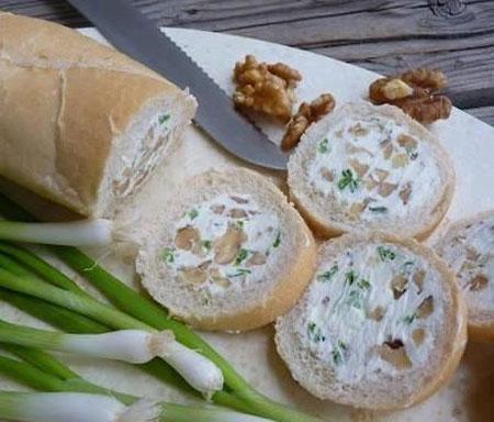 نمونه تزیین نان پنیر سبزی افطار, تزئین نان پنیر سبزی ,تزیین سفره افطار