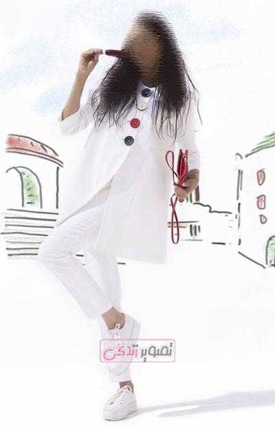 مدل مانتو جدید - مانتو آنا ثانی - مانتو دخترانه