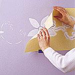 آموزش نقاشی کردن روی دیوار