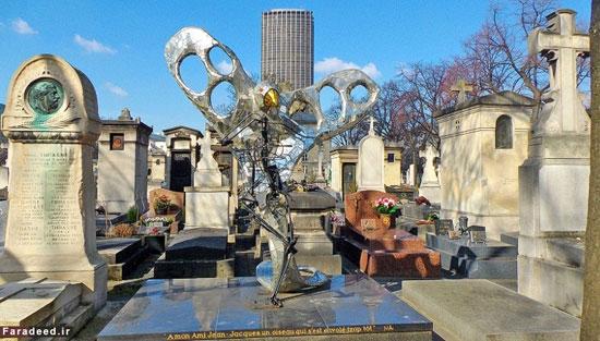 زیبایی گورستان های پاریس -  قبرستان های پاریس