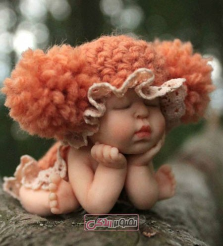 عروسک مینیاتوری - عروسک کوچک