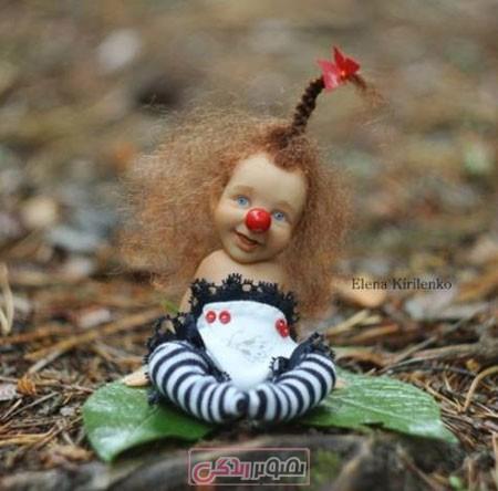 عروسک های زیبا - عروسک مینیاتوری - النا کیریلنکو