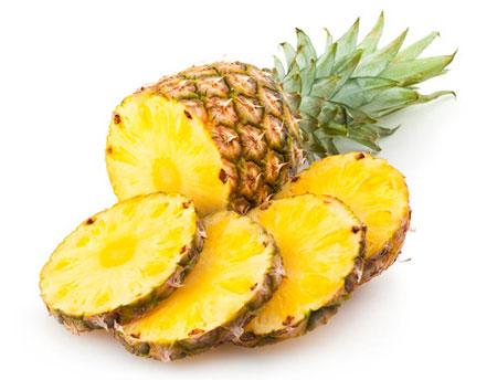 نکات آشپزی  , روش بریدن آناناس و تشخیص آناناس رسیده