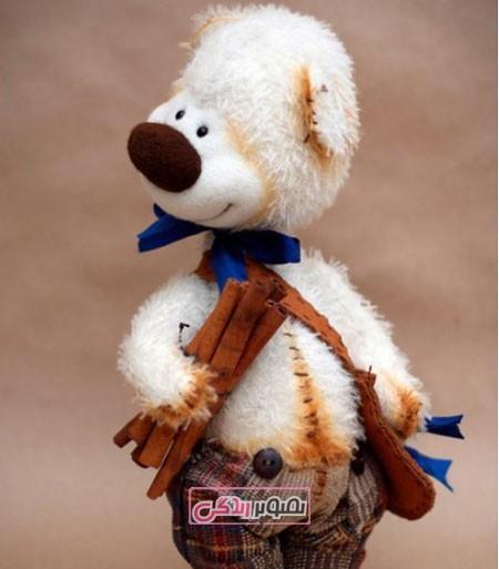 توله خرس های دست ساز استودیو purda