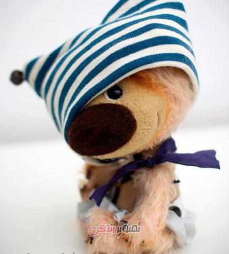عروسک های توله خرس دست ساز استودیو purda
