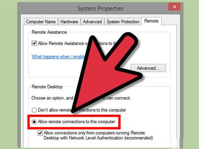 دسترسی به کامپیوتر دیگر با Windows Remote Desktop