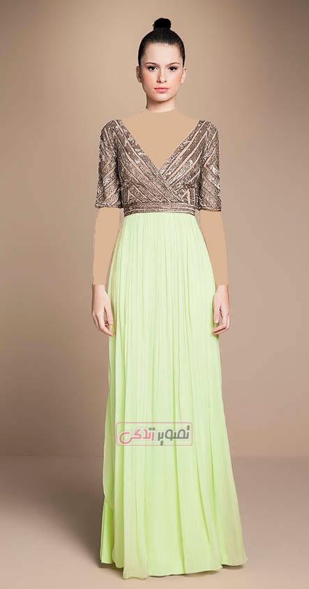 مدل های زیبای لباس مجلسی زنانه - پیراهن مجلسی شیک