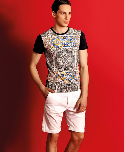 مدل لباس مردانه تابستانی و بهاری Nimanz - تیشرت مردانه