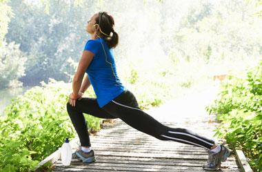 حفظ تناسب اندام , ورزش, تقویت عضلات پائین تنه