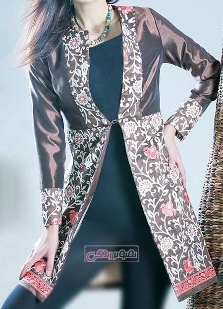 مدل جدید مانتو - مانتو دخترانه - مدل مانتو مجلسی - مانتو شیک