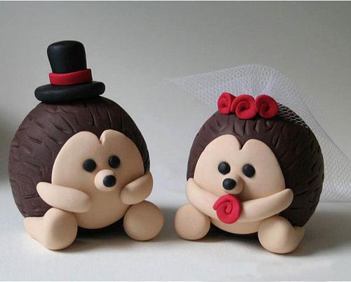 عروسک سازی با خمیر - نمونه عروسک خمیری