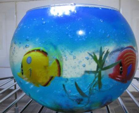 ژله حباب دار آکواریومی