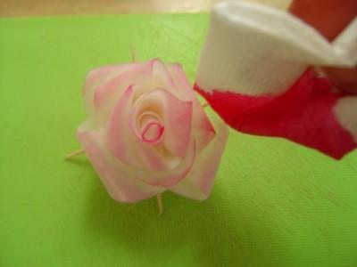 آموزش تصویری - تزیین هویج به شکل رز - تزیین ترب به شکل رز