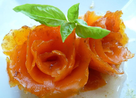طرز تهیه مربای هویج مجلسی - هویج به شکل رز
