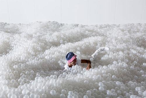 بزرگ ترین استخر توپ دنیا در واشنگتن - اقیانوس توپ