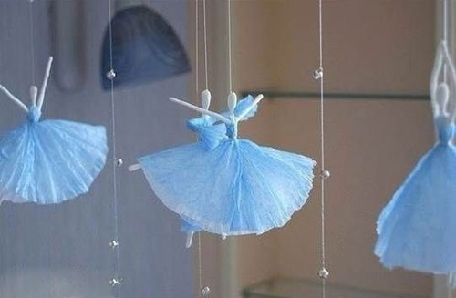 آموزش عروسک سازی  , ساخت عروسک با دستمال کاغذی