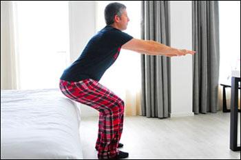 ورزش,ورزش صبحگاهی در رختخواب, حرکات ورزشی