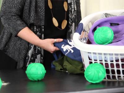 فواید توپهای لباسشویی