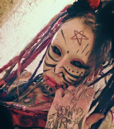 وحشتناک ترین دختر جهان - شیطان پرستی
