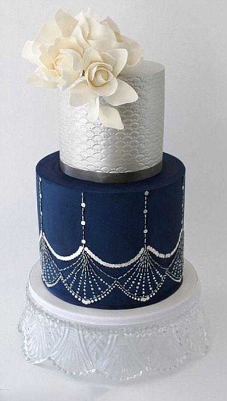 تزیین کیک عروس - عکس کیک عروسی