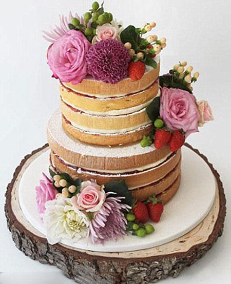 تزیین کیک عروس - جدیدترین مدل های کیک عروسی