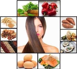 ویتامین های موثر بر رشد و سلامت مو