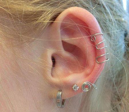 طرز ساخت گوشواره لاله گوشی