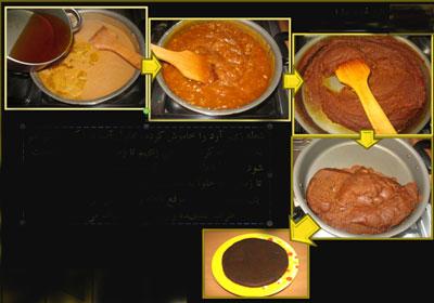 نان، شیرینی، دسر  , طرز تهیه و تزیین حلوا