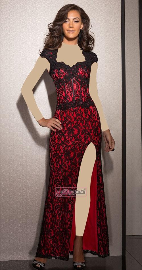 مدل های شیک پیراهن مجلسی clarisse - مدل لباس مجلسی زنانه