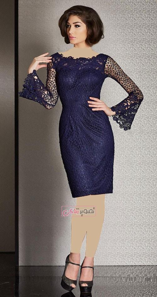 پیراهن کوتاه مجلسی - مدل لباس مجلسی زنانه