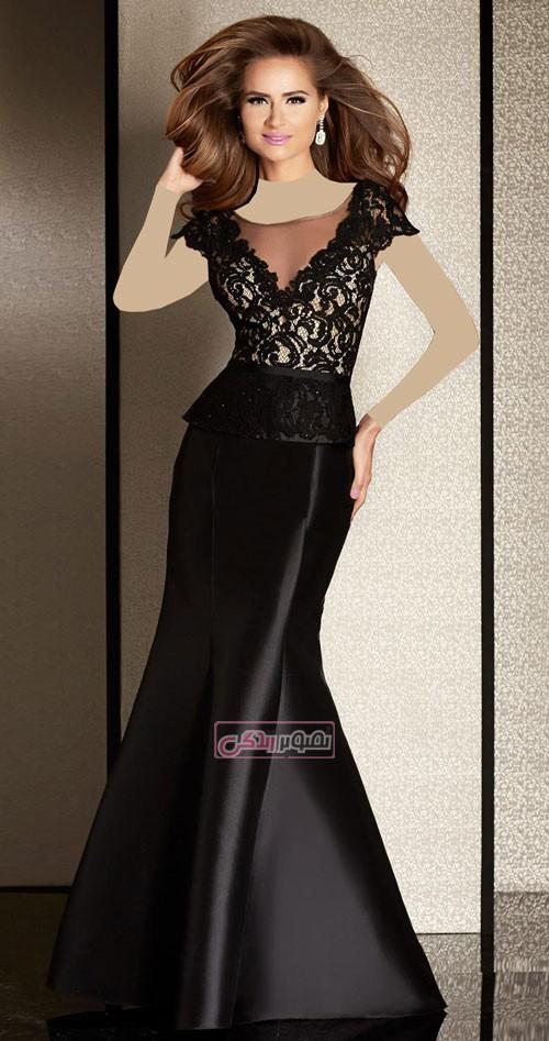 مدل پیراهن گیپور - مدل لباس مجلسی زنانه