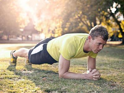 تمرین ورزشی