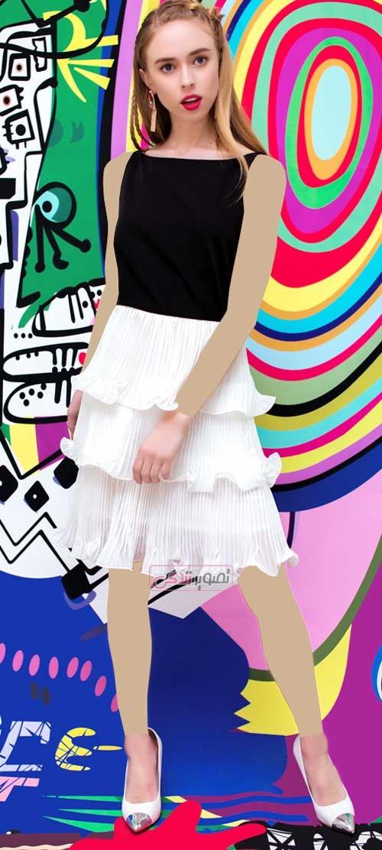 مدل لباس های مجلسی دخترانه - پیراهن کوتاه مجلسی دخترانه