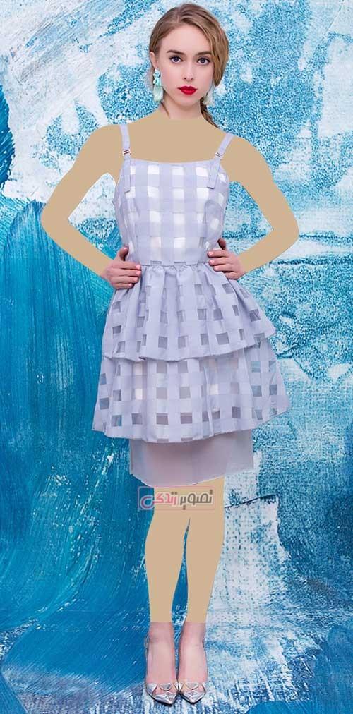 مدل لباس مجلسی دخترانه - پیراهن کوتاه مجلسی دخترانه