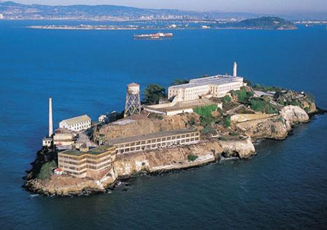 Alcatraz-prison  دانستنی های جالب - آلکاتراز -